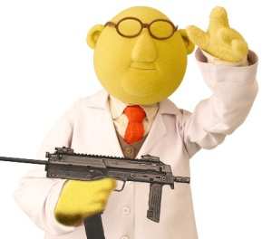 My mate Bunsen. He looks EXACTLY like this