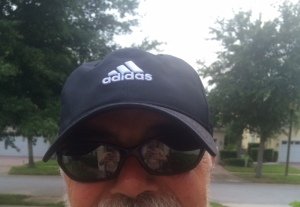 My new Adidas hat which is completely different from....