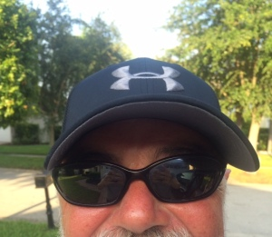 My new Under Armour hat